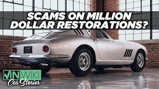 How do people get scammed on million dollar restorations?