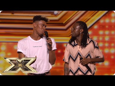 Misunderstood are the duo with the ALL THE MOVES | Auditions Week 1 | The X Factor UK 2018