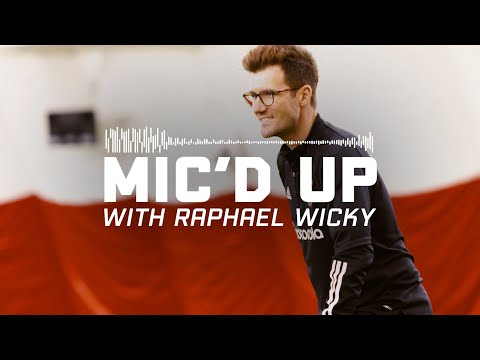 Raphael Wicky Mic'D Up For First Chicago Fire FC Training