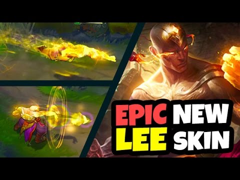 BEST SKIN EVER - AMAZING NEW GOD FIST LEE SIN SKIN - League of Legends