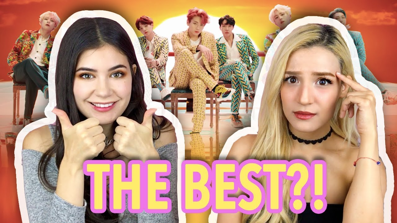 Bts  Eb B A Ed   Ec  C Eb   Eb B A Idol Mv Best Bts Reaction Ever