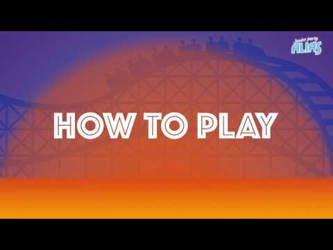 Party Alias Jr - How to play