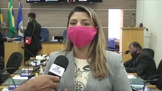Lívia Maia aponta o objetivo da implantação das sessões remotas