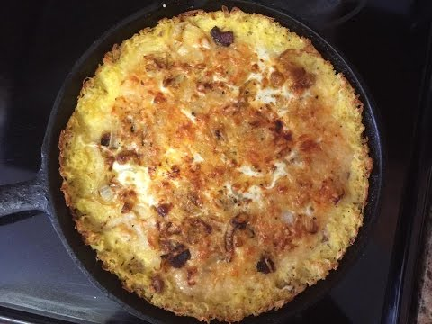 Hash Brown Potato Crust Quiche Lorraine