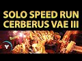 Download Planet Destiny: Cerberus Vae III, Solo Nightfall Fast SPEED Run MP3 song and Music Video