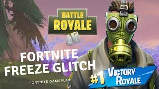 "FORTNITE FREEZE GLITCH! ""Fortnite Glitch Freezing My Screen"" - Fortnite Battle Royale - Squads"