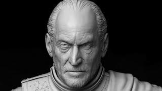 Tywin Lannister Sculpt Timelapse