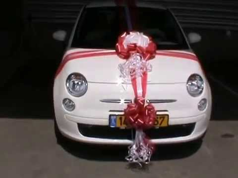 Wedding gift surprise car decoration d coration de for Decoration voiture mariage