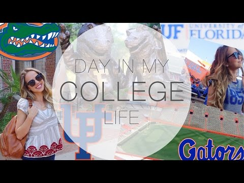 A DAY IN MY LIFE AT COLLEGE || UNIVERSITY OF FLORIDA