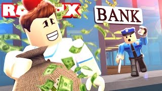 I GOT AWAY WITH ROBBING A BANK!! | Roblox JAILBREAK Roleplay