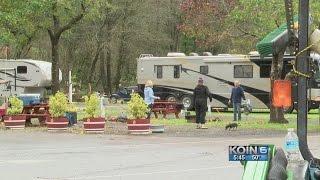 Local flooding causes RV park to evacuate