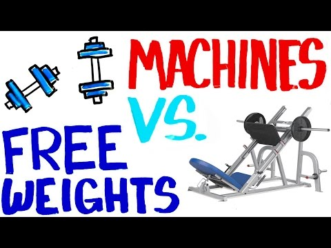 free-weights-vs-machines---best-for-building-muscle?-get-stronger?