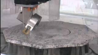 Qualey Granite - CNC Machine - Video 2