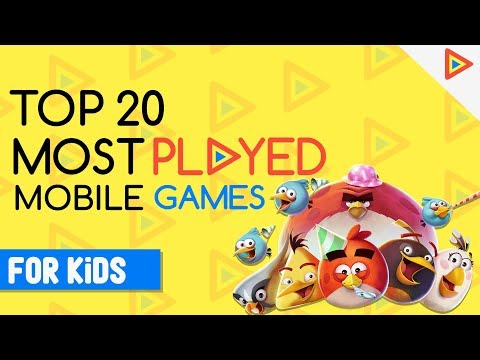Top 20 Mobile Games For KIDS! | Most Played Games
