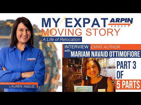 ✈️👨👩👧👦🏜My Expat Moving Story with Lauren Inglis, Part 3 of 5 with Guest Mariam Navaid Ottimofiore