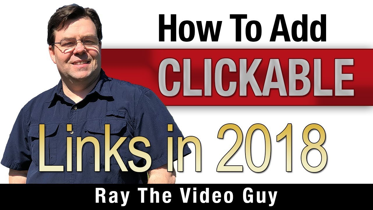 How To Add A Clickable Link In Your Videos 2018 Youtube Tricks And Tips Youtube