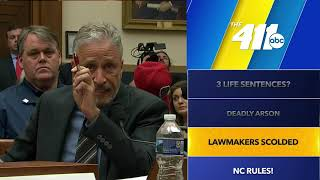 "411: ""Utterly unacceptable:"" Jon Stewart lashes out at Congress over the 9/11 victims fund"
