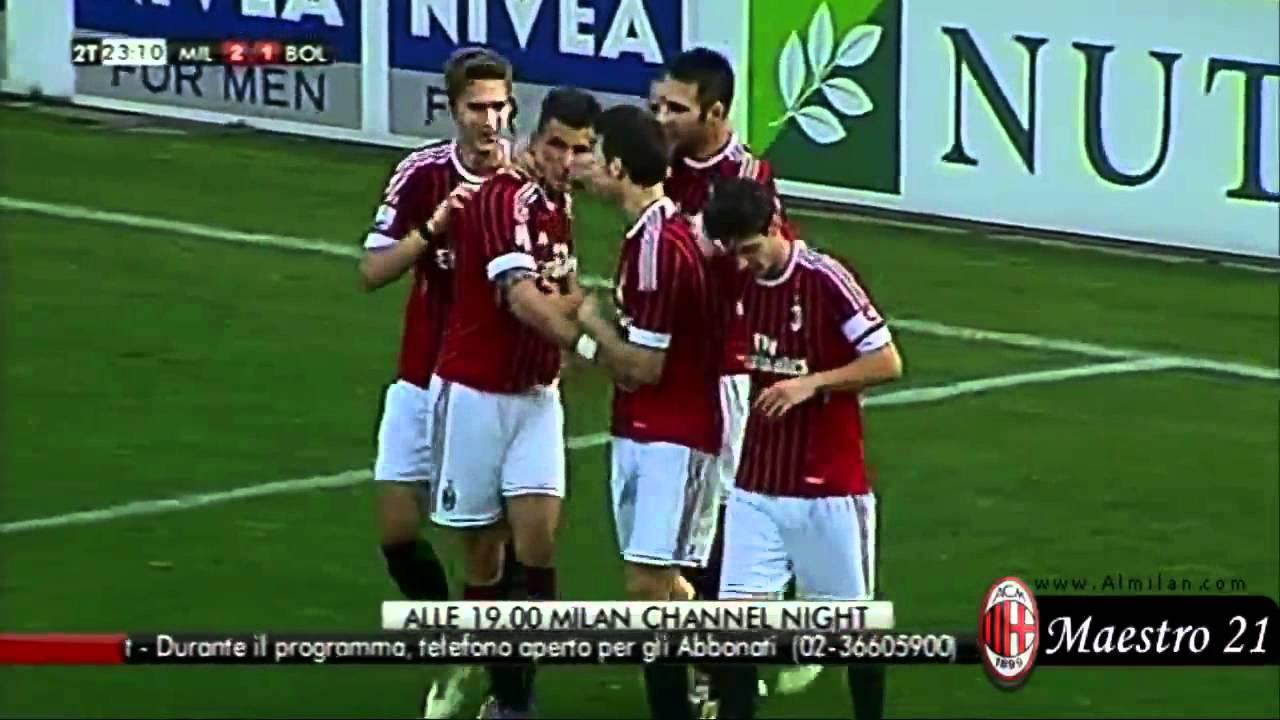 Primavera - AC Milan 3-2 Bologna 17-03-2012 - YouTube