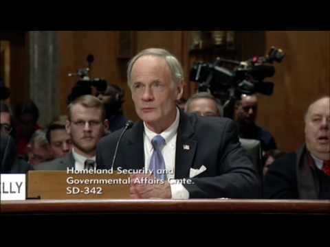 "Dem Sen. Tom Carper Calls Kelly ""Exceptionally Qualified Leader"" To Head Homeland Security"