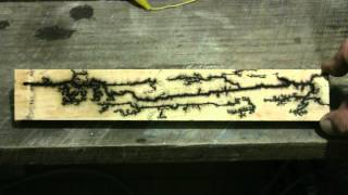 More High Voltage Wood Burning