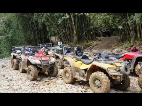 Carabali Rainforest Park, Puerto Rico - ATV Tour 12-9-2015