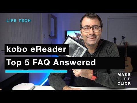 Kobo eReader - Top 5 FAQs Answered