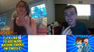One of YoutubableHD's most viewed videos: Mackin' Chicks on Omegle  hash-Tag BUTTS