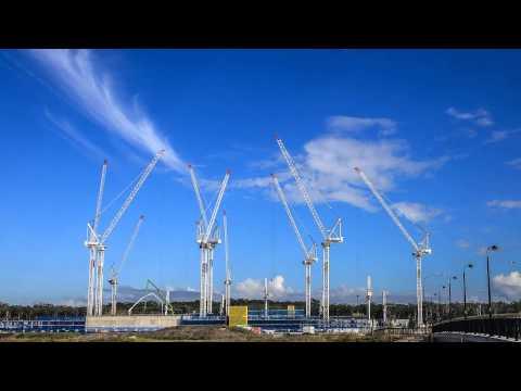 Sunshine Coast Cranes Timelapse