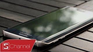 Schannel - Mở hộp Galaxy S6 Edge chính hãng màu xanh đen