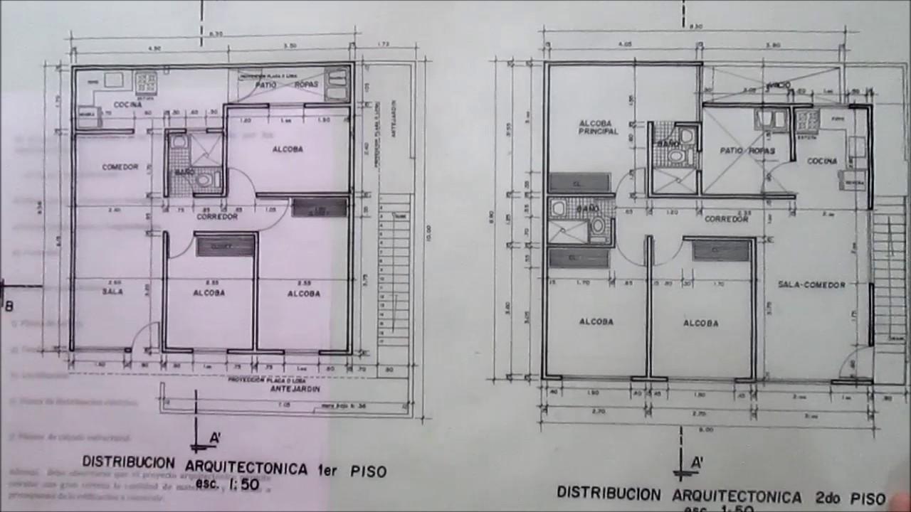 Dibujo t cnico arquitect nico elementos conceptuales for Que es un plano arquitectonico