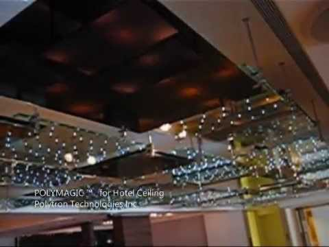 POLYMAGIC™ LED Display Glass - Application in Hotel, Restaurant and Casino