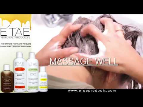 How to use E'TAE Natural Products