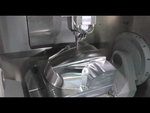 Airbus Fuel Line Connector Machining Using Powermill