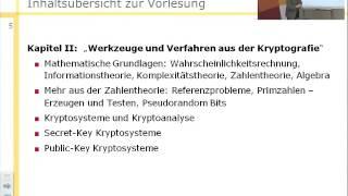 Informationssicherheit (SS 2013), Einführung in die Vorlesung