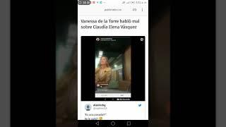 Vanessa de la torre habla de la esposa de Carlos vives