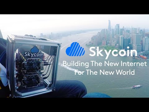 Skycoin- Building New Decentralized Internet For The New World