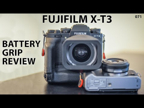 Fujifilm X-T3 vertical battery grip: Review and user guide
