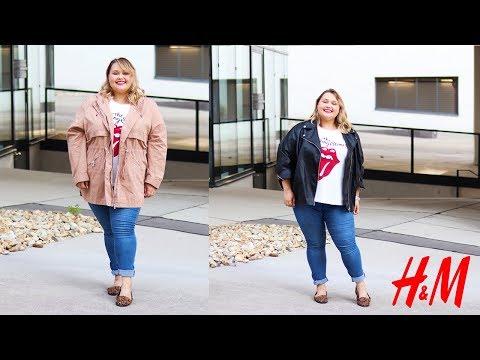 H&M PLUS SIZE покупки на ОСЕНЬ || Куртки и одежда Premium Quality