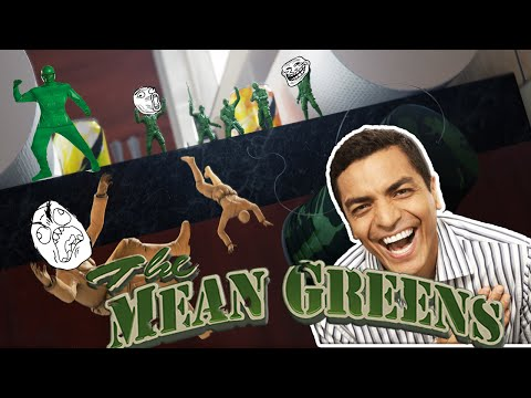 AMAZING BIRTHDAY BATTLE!  - Mean Greens Plastic Warfare  w/ Jerome & DONDOPLS