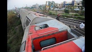 Poorva Express derailment site [POST ACCIDENT FOOTAGE]