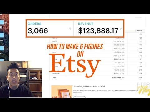 Etsy 6 Figure Earnings - Tips & Tricks for 2019