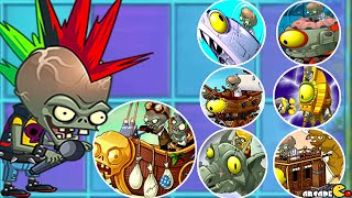 Plants vs Zombies 2 - Neon Mixtape Tour Side B Zombot Multi-stage Masher All World Zomboss!