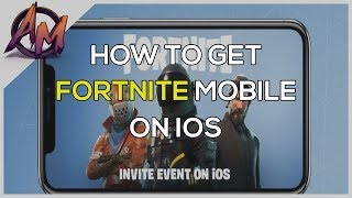 Fortnite | HOW TO GET FORTNITE MOBILE FREE!!! (EASY!)