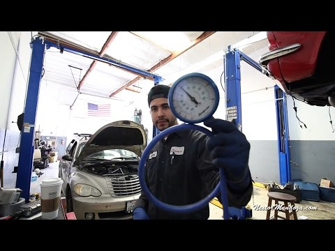 Shop Vlog-Testing a bad Catalytic Converter with a Pressure Gauge