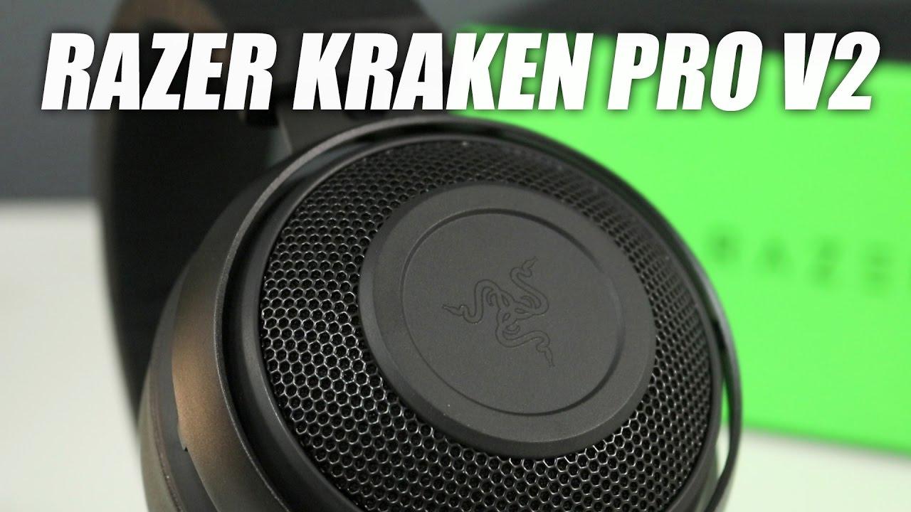 Razer Kraken Pro V2 Gaming Headset Review