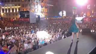 Nolwenn Leroy chante Sixieme continent à Marseille - Fête de la musique sur France 2