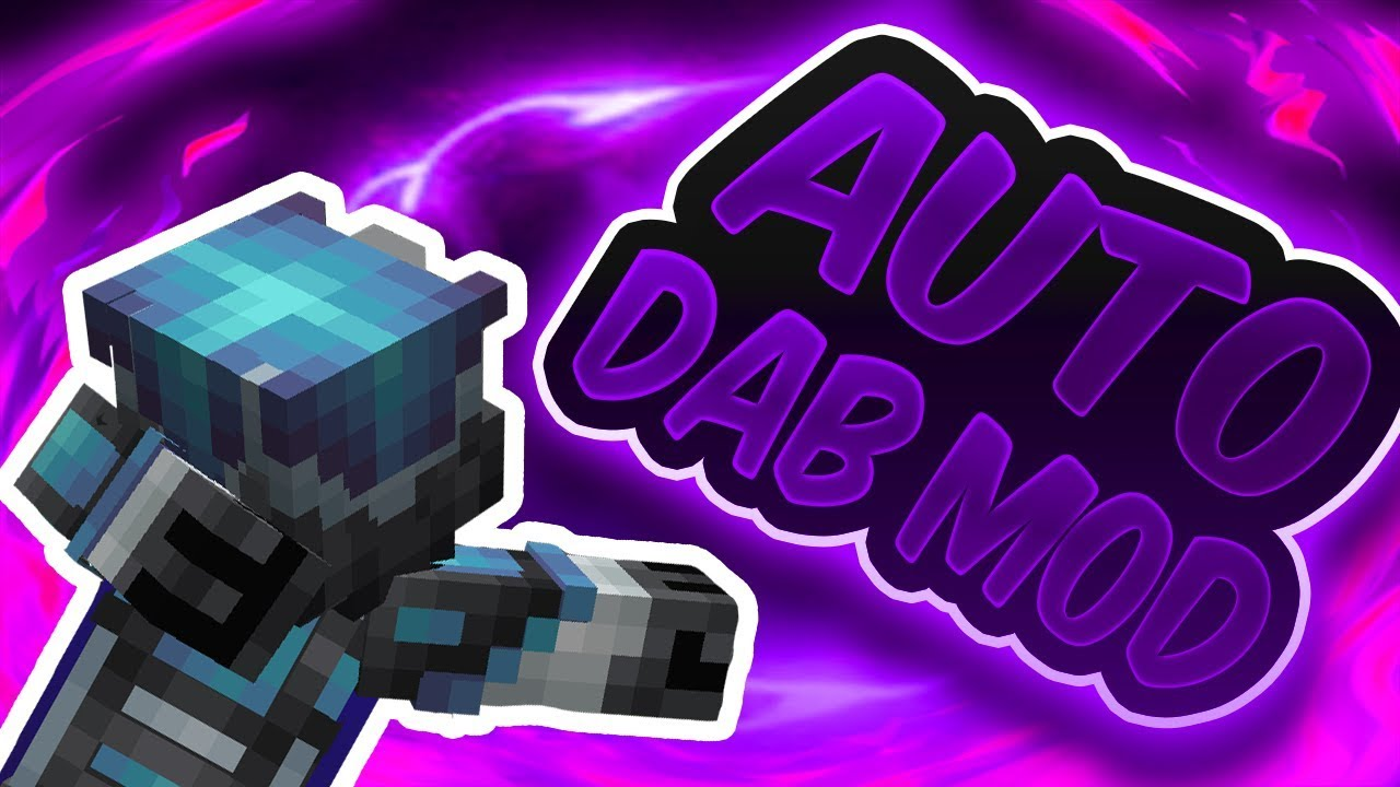 AUTODAB MOD DAB IN MINECRAFT Minecraft Cringe 189 YouTube