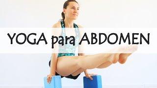 Yoga para abdomen plano   20 min para todos niveles con Elena Malova