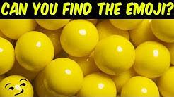Can you find the hidden emoji?   Hidden Objects Puzzle   Find the hidden objects