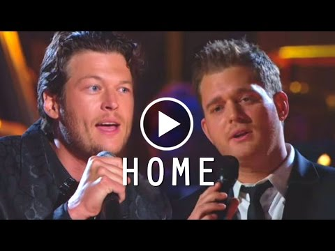 Home - Michael Buble & Blake Shelton - Lyrics/บรรยายไทย